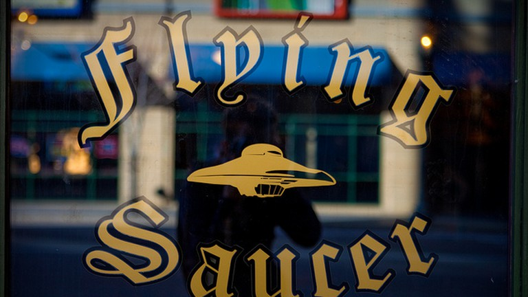 Flying Saucer Window