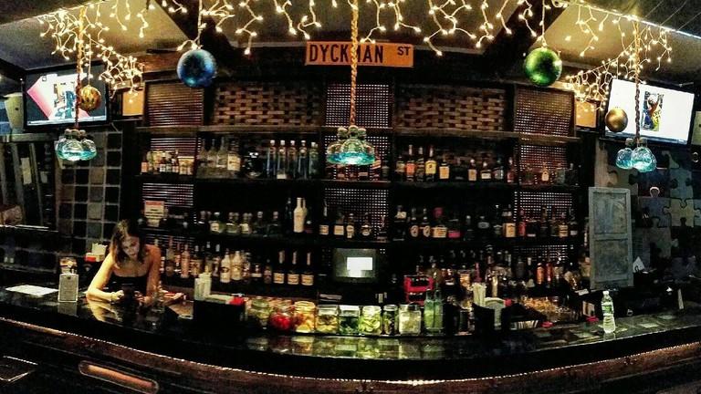 Dyckman Bar's Bar Full View