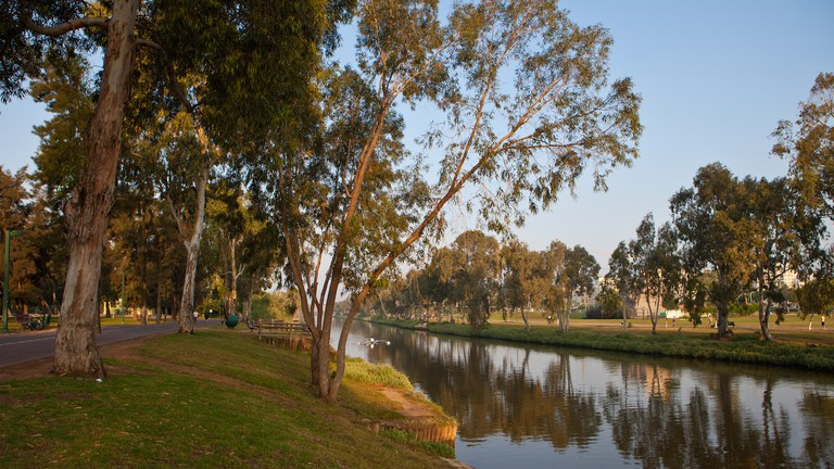 You're going to want a long book for Yarkon Park