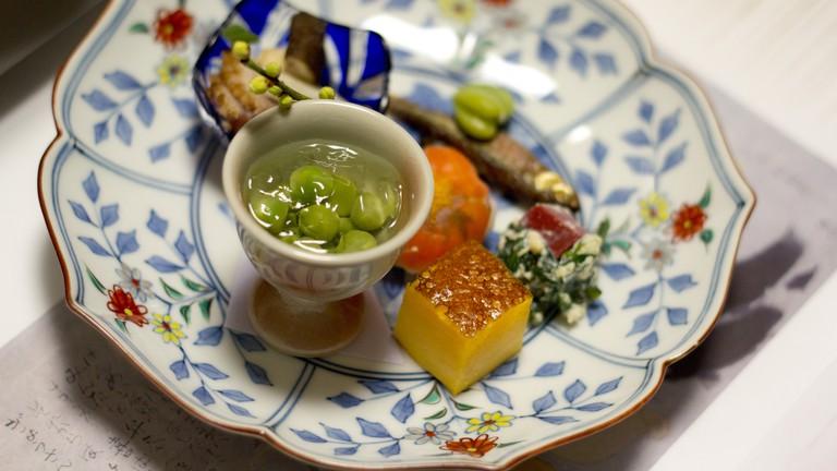Kaiseki appetizer   © Japanexperterna.se/Flickr