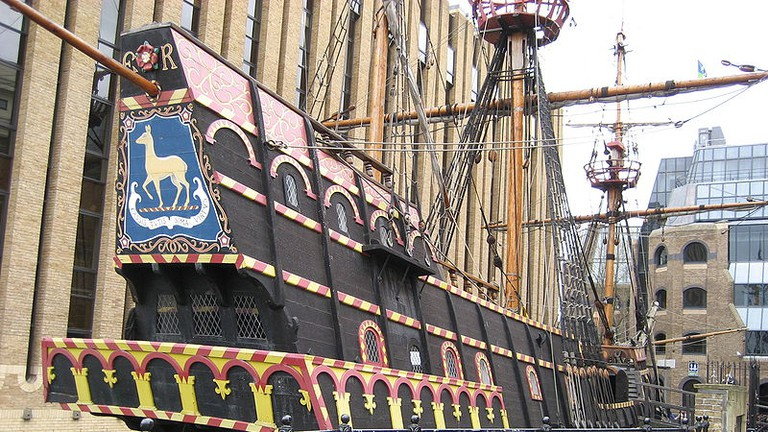 Replica of the Elizabethan Galleon