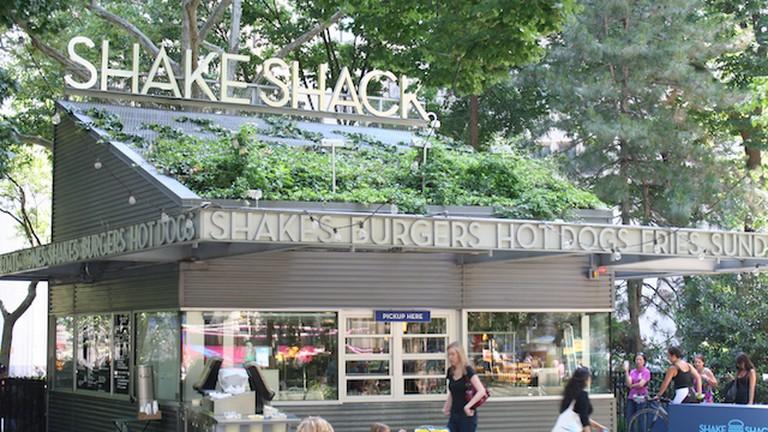 Shake Shack in Madison Square Park