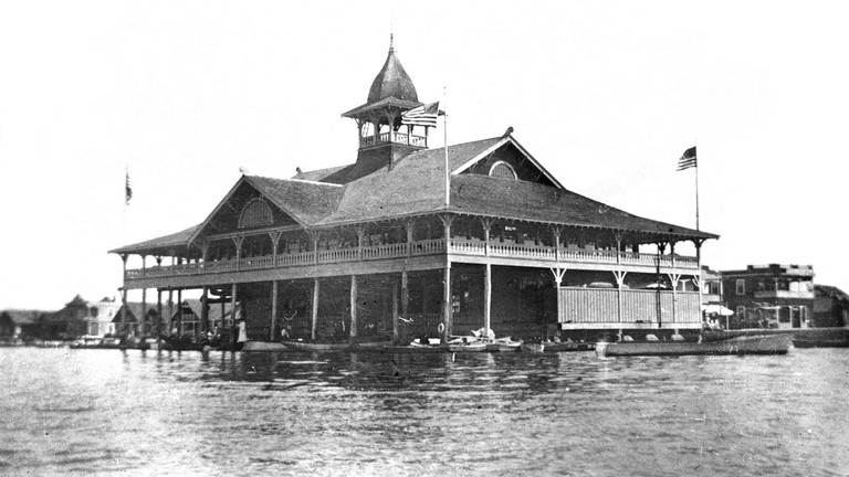 Balboa Pavilion in the early 1900s