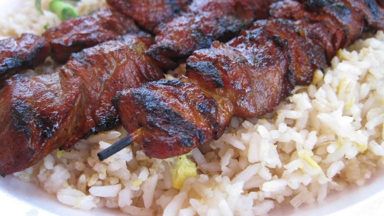 Bernie's Teriyaki BBQ Pork |©Ruel G./Flickr