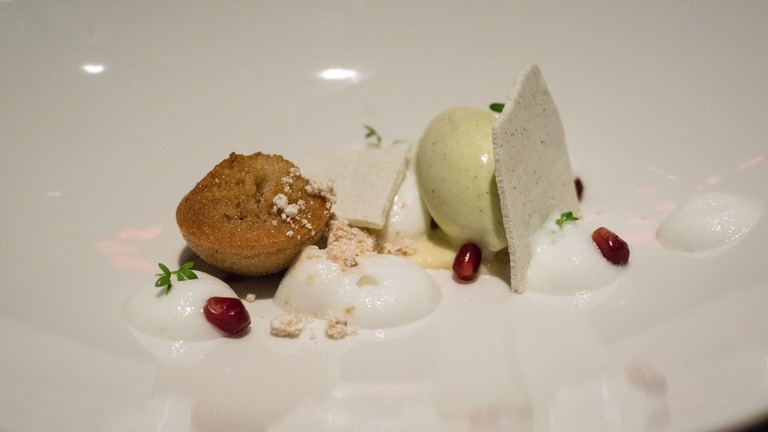 Dessert at Aziza