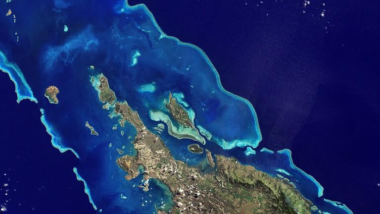 New Caledonia Barrier Reef | © NASA/WikiCommons