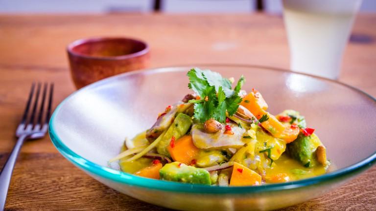 Ceviche Andina & Pisco Sour