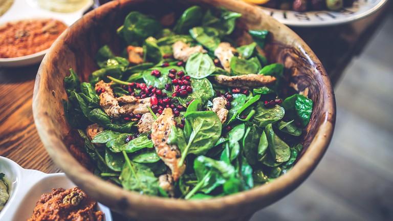 Spinach Salad | © kaboompics/Pixabay