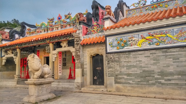 A Tin Hau Temple on Cheung Chau Island │