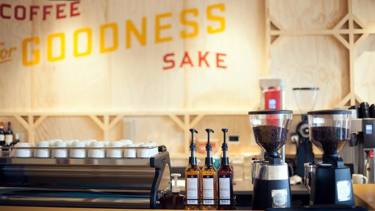 Inside Apanas Coffee & Beer