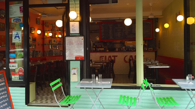 Fiat Café, New York