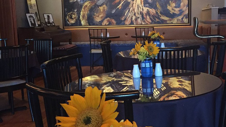 Dining room at The Pandorica