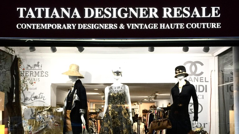Not only does this shop offer exposure to the most eccentric, fashion-forward designs from Givenchy to Max Mara - it also sells pieces with history
