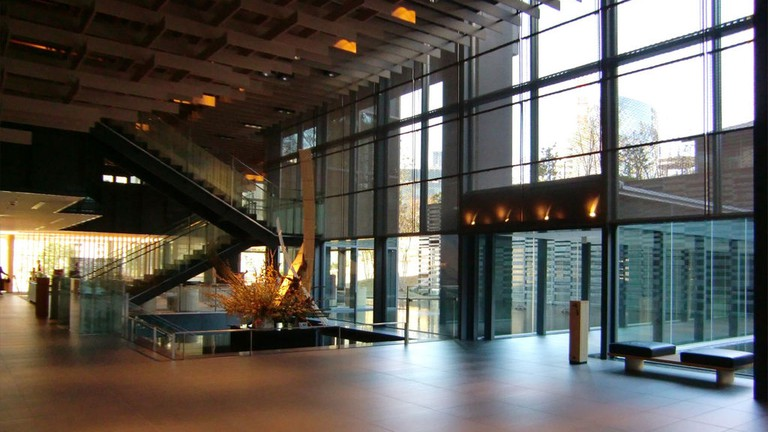 The lobby of Capitol Hotel Tokyu in Tokyo