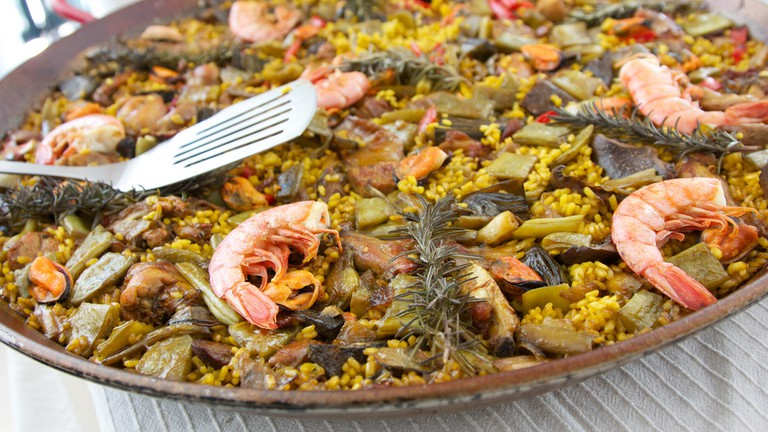 A traditional paella | © Matt Westgate / Flickr