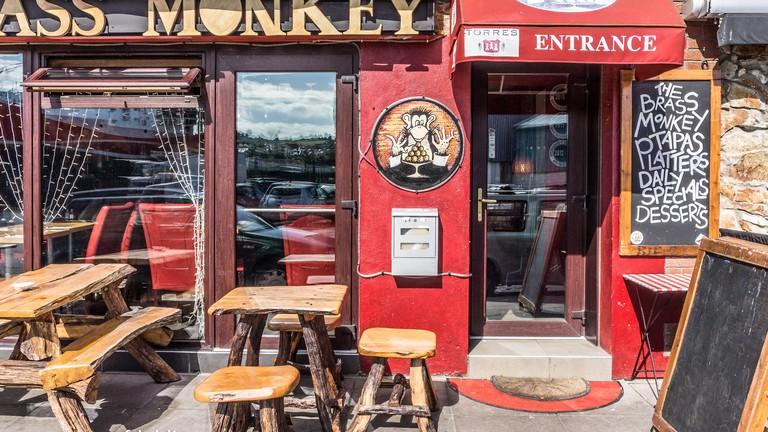 The Brass Monkey Restaurant, Howth Harbour