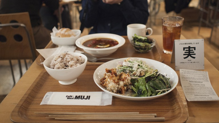 A meal at Meal MUJI