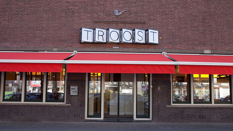 Troost's location in De Pijp