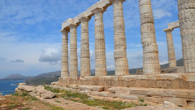 Temple of Poseidon, Cape Sounion, Greece © Carole Raddato /WikiCommons