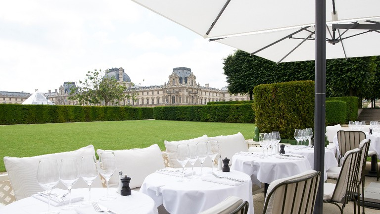 The terrace at LOULOU