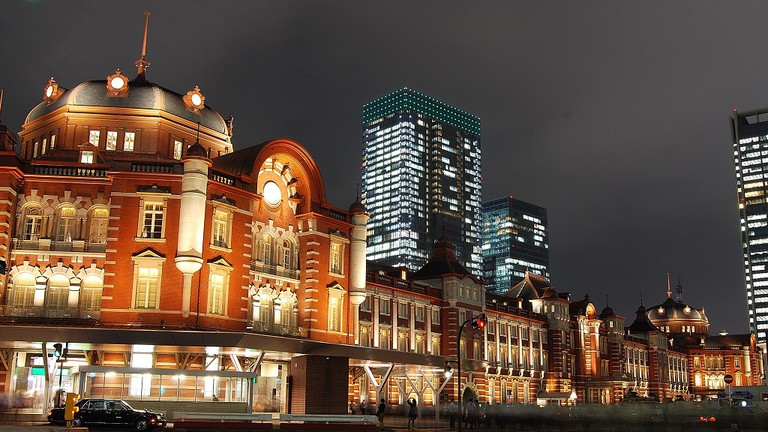 Tokyo Station Hotel shares space with Tokyo Station