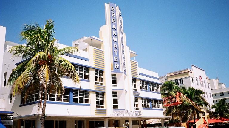 The Breakwater Hotel, Miami Beach