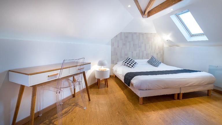 A bedroom at the Hôtel Tréma │ Courtesy of the Hôtel Tréma