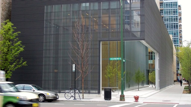 The Poetry Foundation in Chicago's River North neighborhood