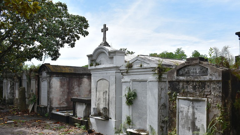 Tombs at Lafayette Cemetery No. 1 in the Garden District, New Orleans