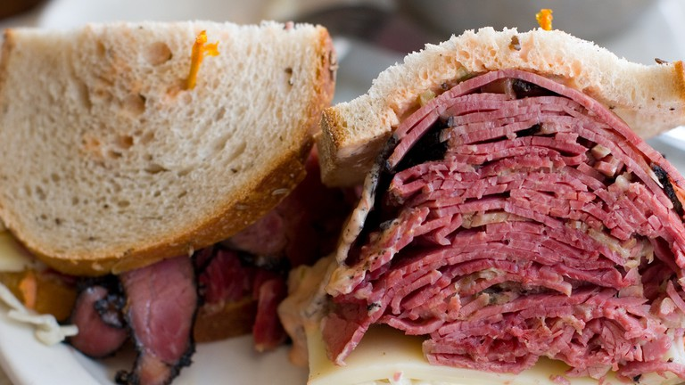 Corned Beef and Pastrami Sandwich © Brad Greenlee/Flickr