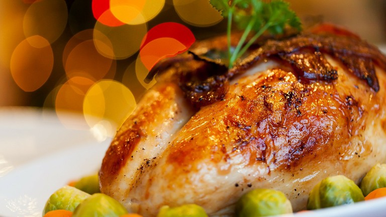 Roast turkey © Pixabay