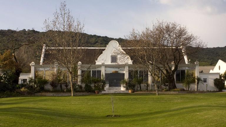 Rhebokskloof Manor House © Courtesy of Rhebokskloof Wine Estate