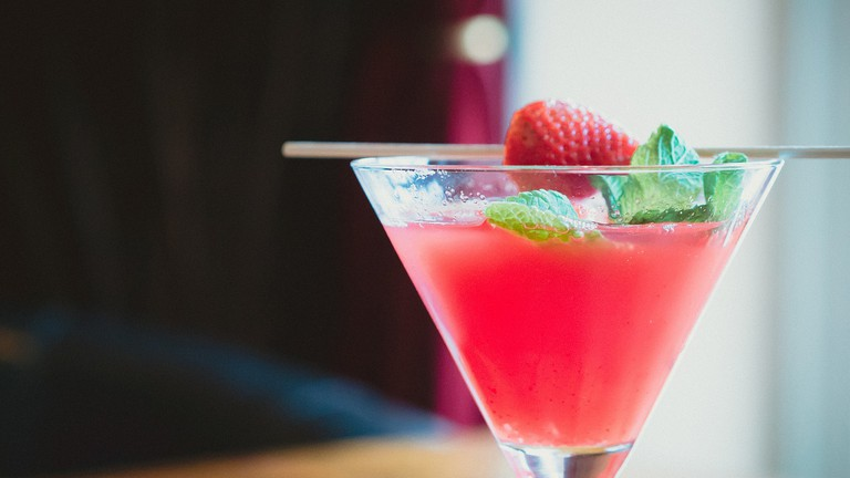 strawberry cocktail | © CC0 Public Domain / Pixabay