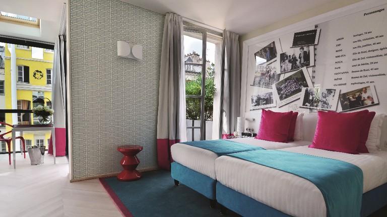 A bedroom at the Hotel 123 Sebastopol │© Astotel