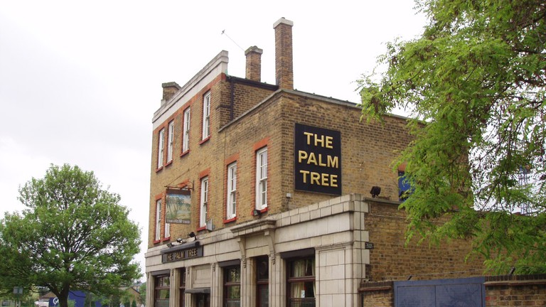 The Palm Tree survived the Blitz