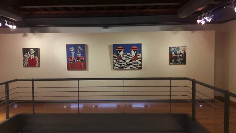Displayed art