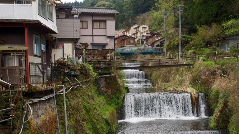 湯布院湯平溫泉 yufuin yunohira-onsen