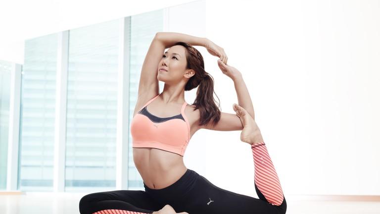Award-winning yoga studio