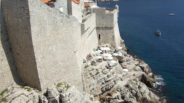 Buza Bar, dubrovnik city walls,