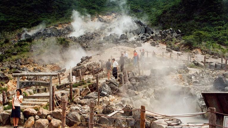 Hakone, hot springs