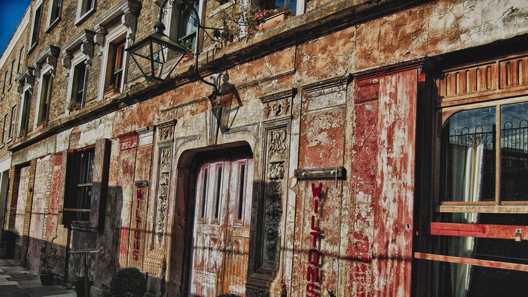 Wilton's Music Hall is the oldest in the world