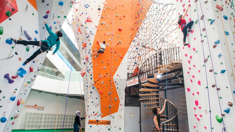 Tallest indoor climbing centre in Singapore
