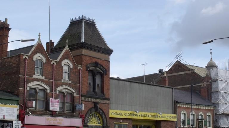 Cow vintage Warehouse, Digbeth, Birmingham