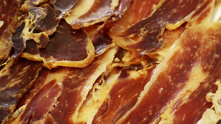 Cured pork