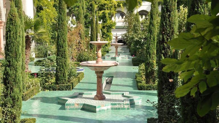 Fountains at the Grande Mosquée de Paris │© Marc Cooper / WikiCommons