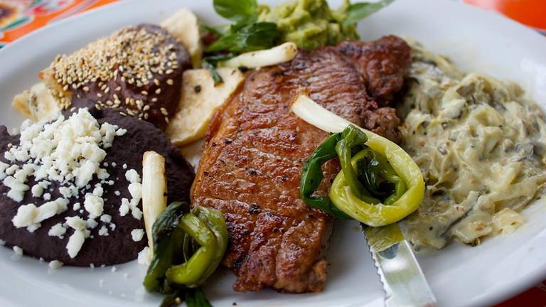 Steak Tampiqueño at Licha's Cantina