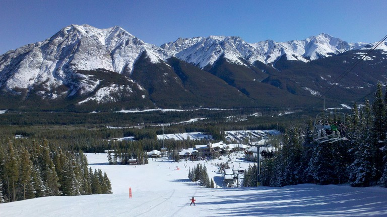 Breathtaking views at Nakiska Ski Resort