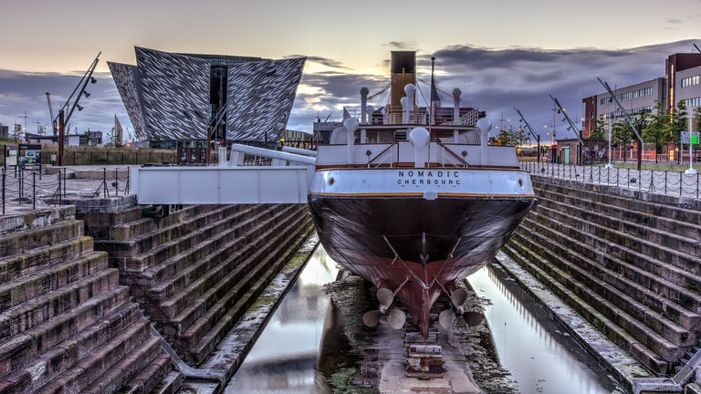 Titanic Belfast and SS Nomadic