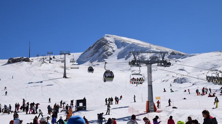 Parnassos Ski Centre in Greece!