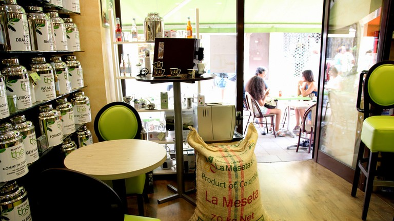The Itineraire cafe in Cannes is a coffee lover's haven | © Bex Walton / Flickr